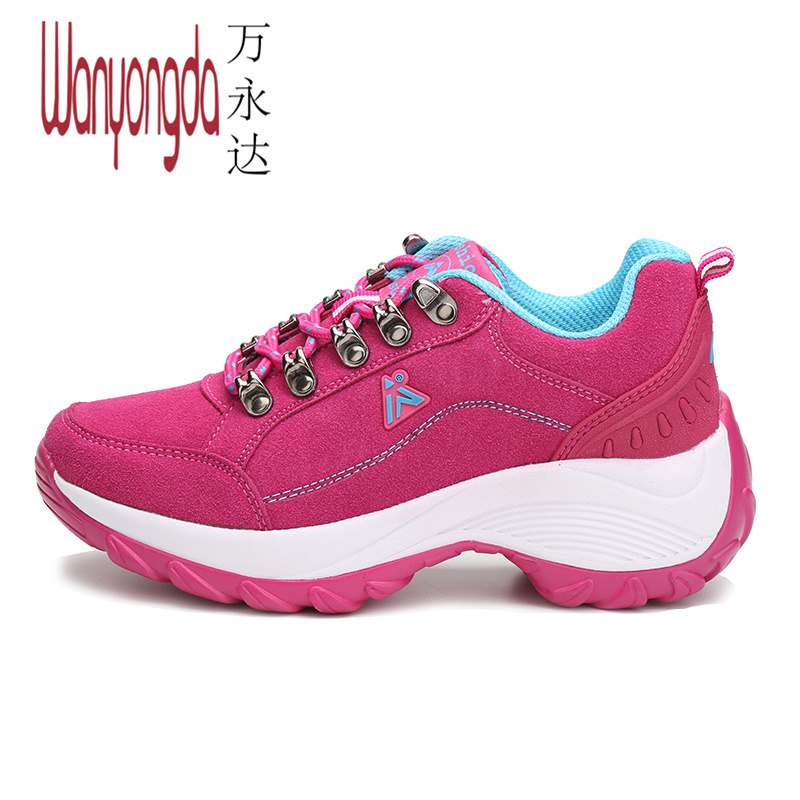 Wan yongda ms. spring new waterproof hiking shoes hiking shoes authentic outdoor shoes slip hiking shoes women