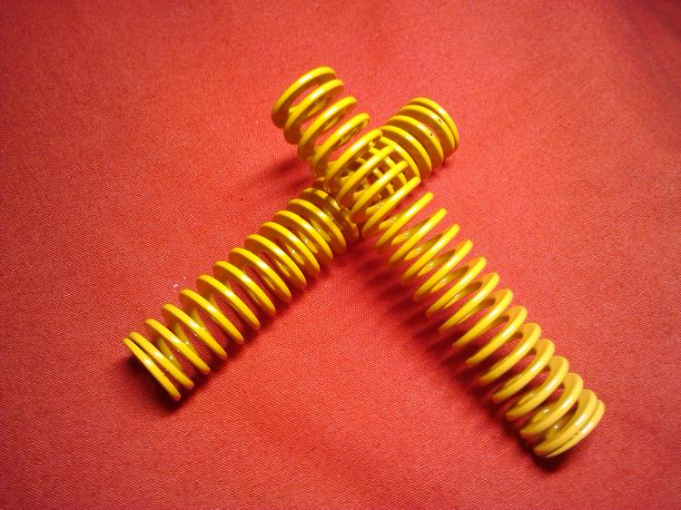 [Wang] shengke japanese standard die springs mold parts imported spring steel tf yellow light and small load