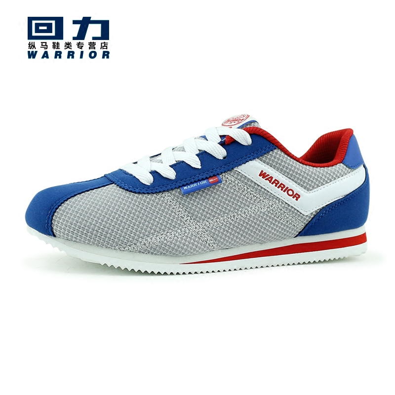 Warrior men's summer breathable mesh shoes men sports shoes shells forrest gump shoes student network surface casual shoes running shoes men