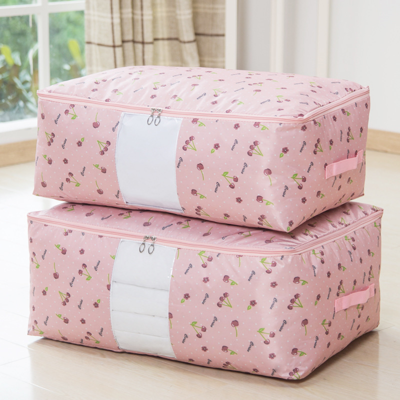 Washable waterproof oxford cloth quilt finishing box storage bags quilt dust bag pouch 2 shipping
