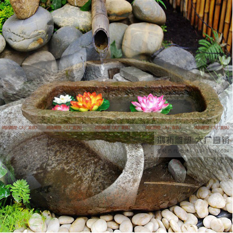 Water garden ornaments villa landscape garden stone fountain waterscape waterscape custom antique outdoor indoor outdoor