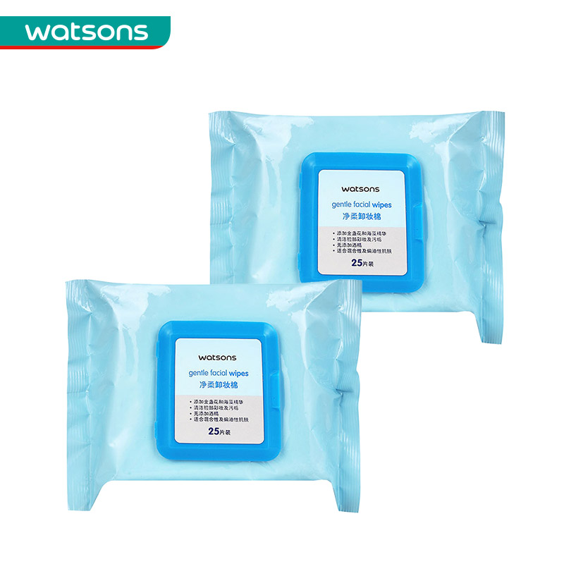 [Watson] watson gentle makeup remover cotton 25*2