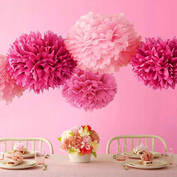 Wedding marriage room decoration supplies wedding arranged a birthday party for children paper cutting paper peony ball garland paper flower ball flower ball