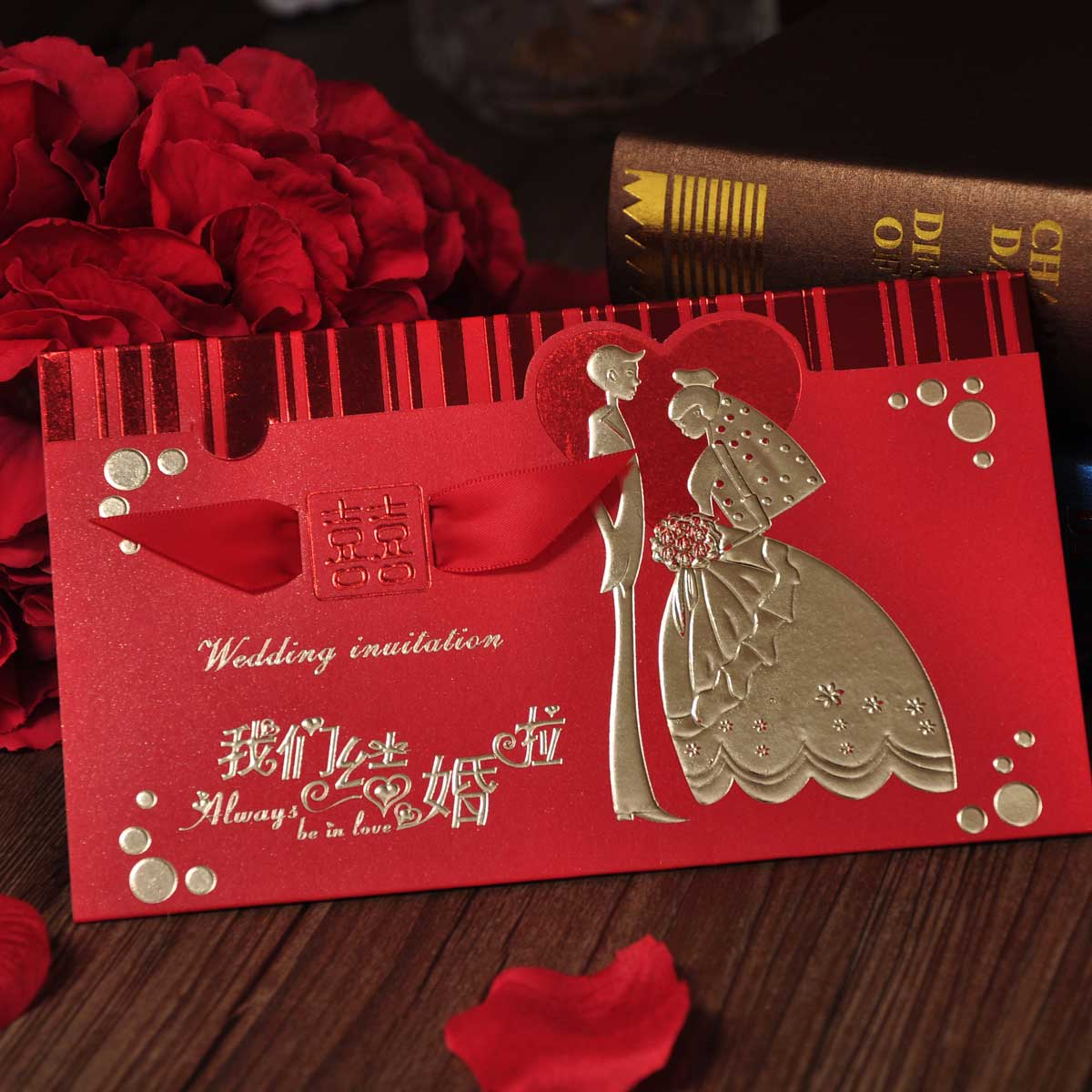 China Korean Wedding Invitations, China Korean Wedding Invitations ...