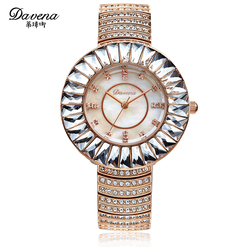 Wei di na davena genuine diamond watch ladies watches fashion watch diamond watch 60892 gift tide