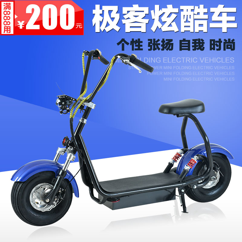 Wei kelang haleys city scooter electric scooter lithium battery car slip postillion bicycle double