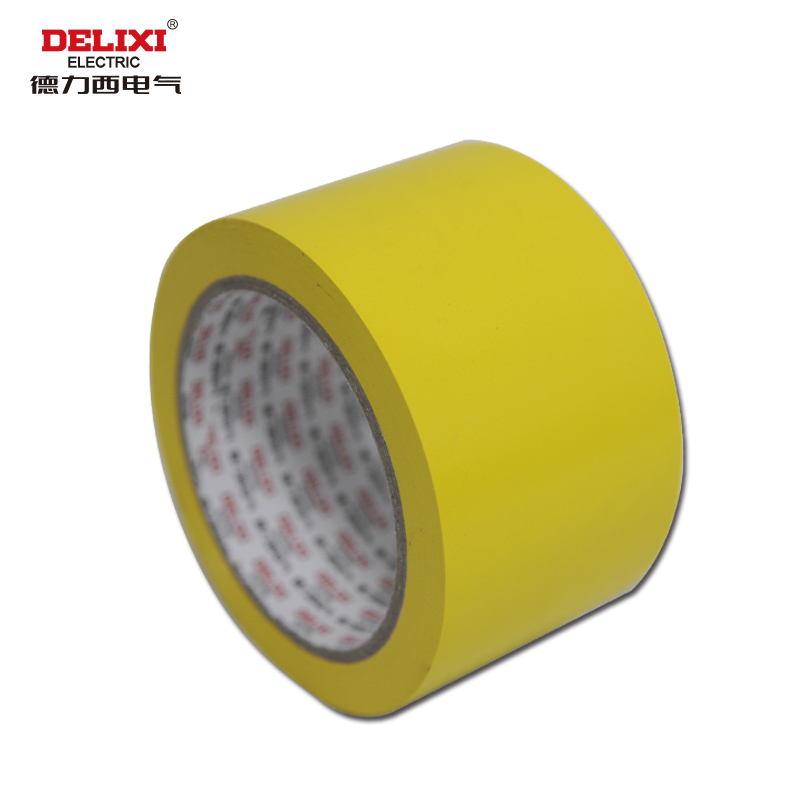 West german electrical isolation tape yellow warning tape pvc zebra tape bandwidth 36mm
