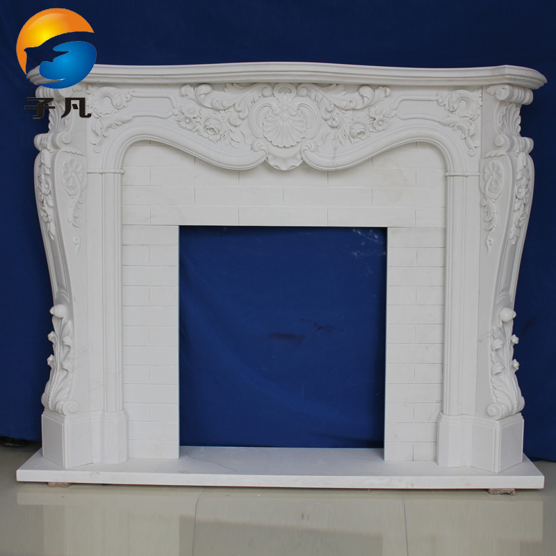 Where child quyang stone fireplace marble fireplace mantel fireplace european decorative interior decoration heating bl71