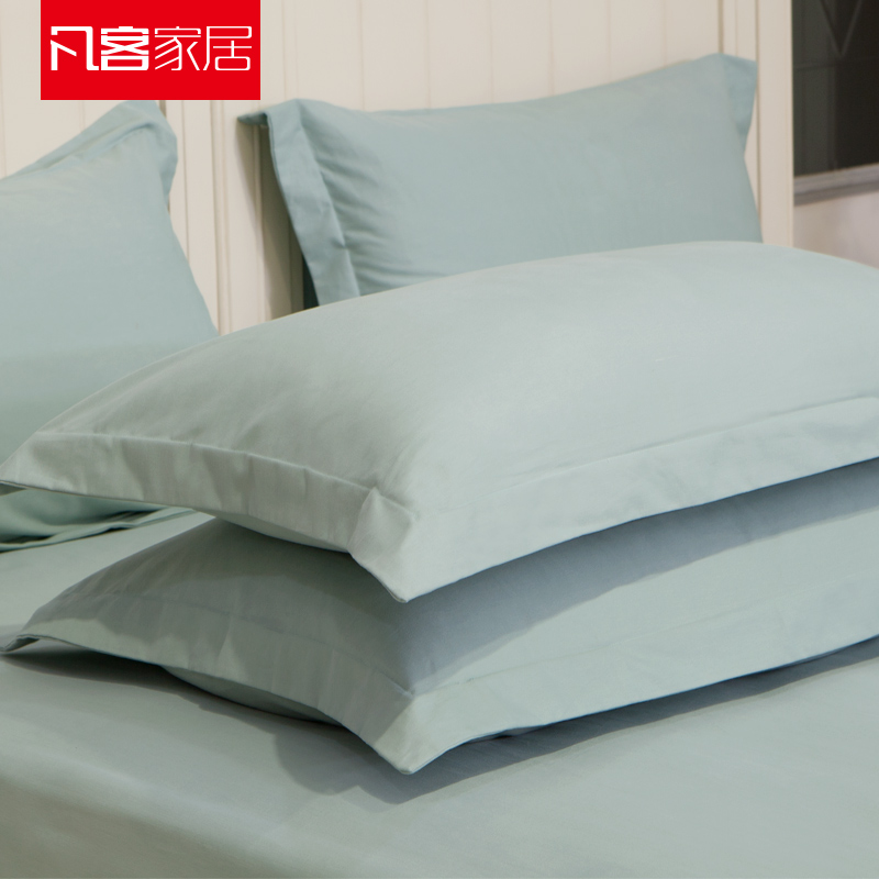 Where the customer home sanding thick cotton pillowcase single solid color cotton pillowcase solid single pillowcase