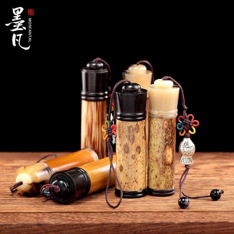 Where the ink exquisite bamboo agilawood syringes smoke smoke pipe tobacco tobacco barrel gold string and wind incense xiang small pieces