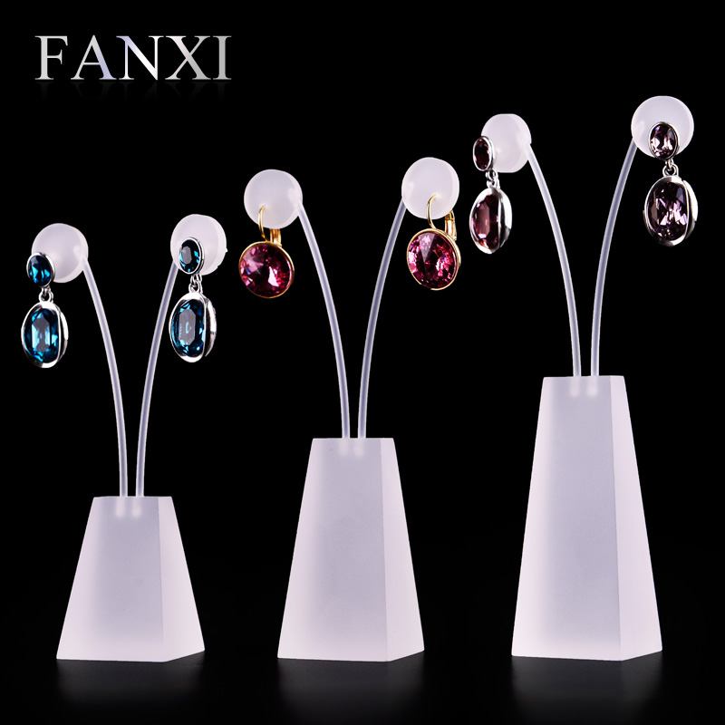 Where the west fanxi new scrub hanging acrylic earring rack earrings jewelry display rack props