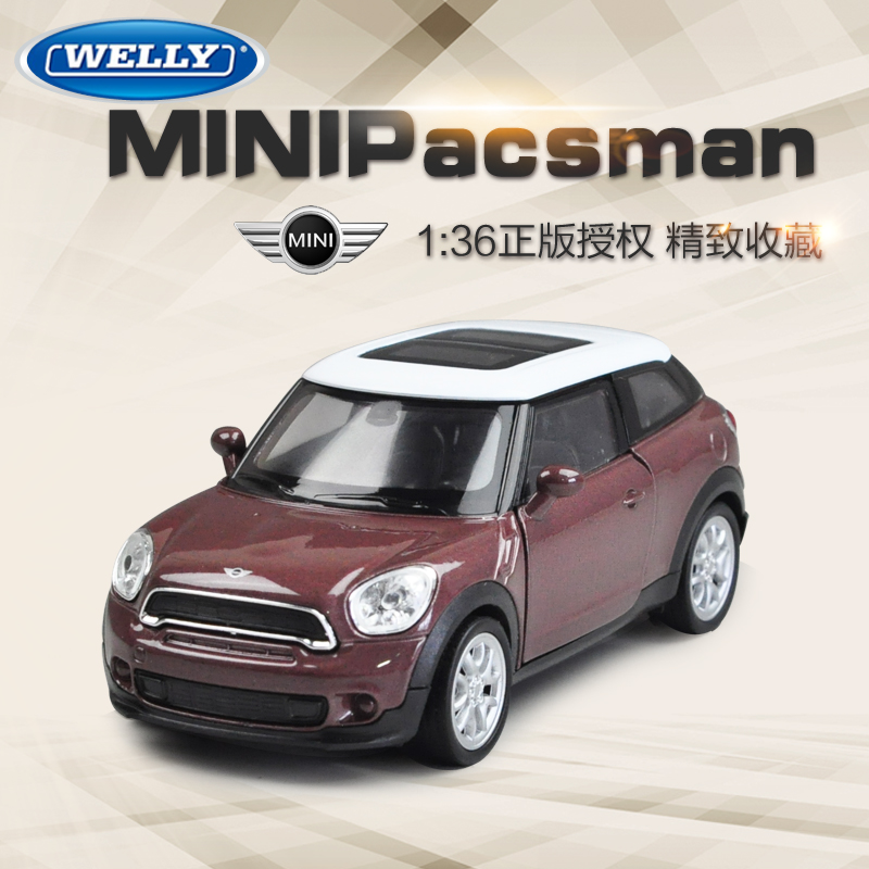Willie welly 27:1 mini cooper simulation alloy car models car model car toys for children