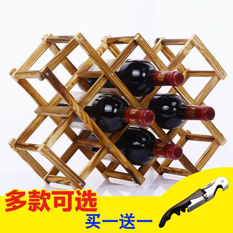 get quotations wine rack wine rack ornaments creative household living room wood folding wine rack wine rack bottle