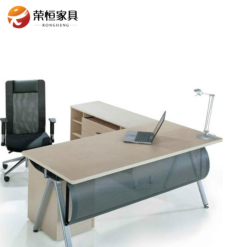 Wing hang stylish office furniture desk manager boss desk desk desk minimalist modern large gas can be customized