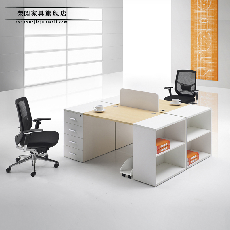 Wing [read] shanghai office furniture desk staff minimalist modern office furniture screen desk