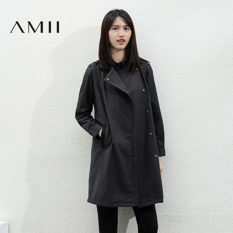 Winter new solid color slim big yards round neck commuter single piece knit dress stitching back heart pre-2015 ladieswear