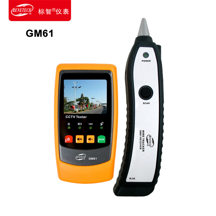 Wise GM61 hunt hunt hunt instrument network cable line is a telephone line transmission line instrument check line tester engineering treasure