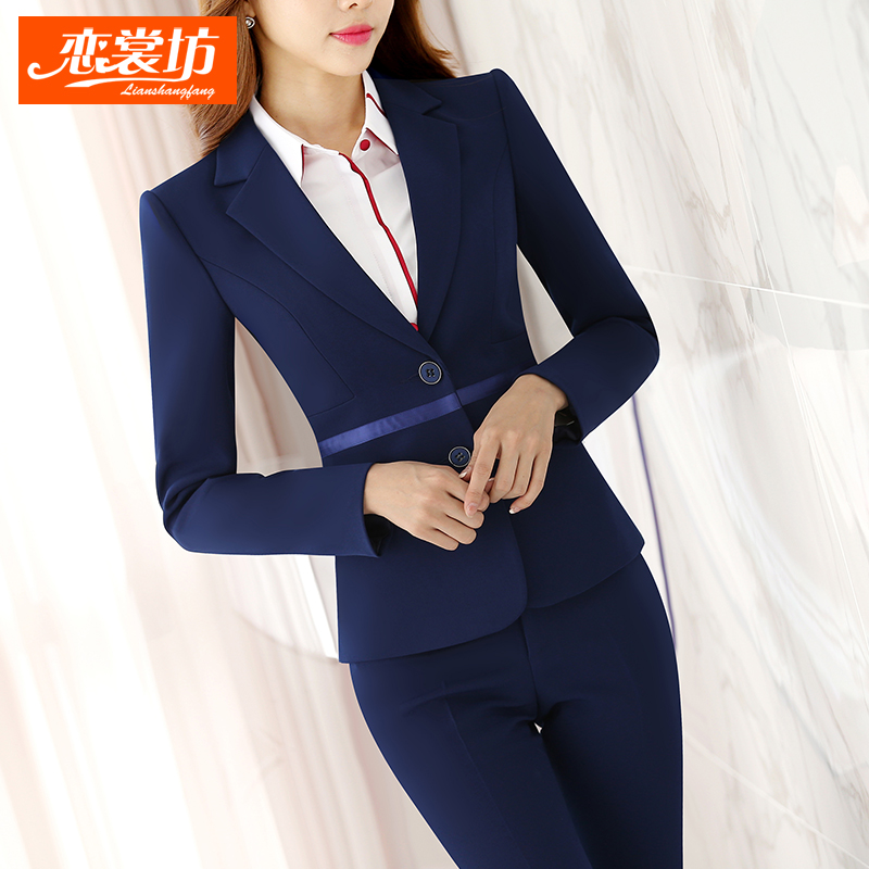 Women wear suits autumn business suits fall and winter clothes women wear suits hotel uniforms slim