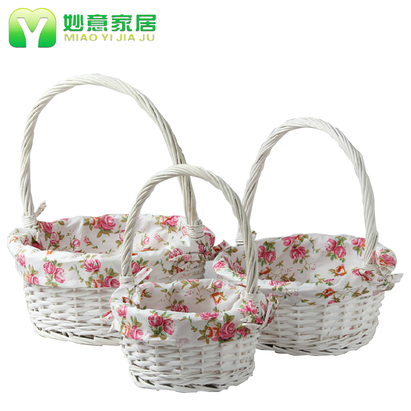 Wonderful italian rattan storage basket picnic basket portable storage basket storage baskets wicker baskets of fruit and vegetables