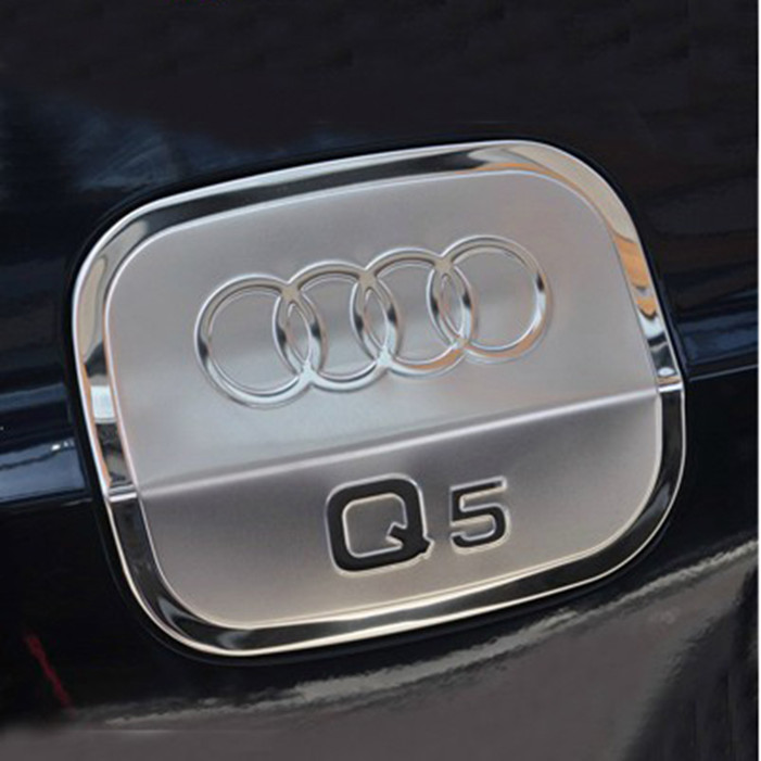 Wonderful song shipping audi q3 q5 special stainless steel tank cover fuel tank cap chromeplating tank cover fuel tank cap modified car stickers decorative stickers sequins