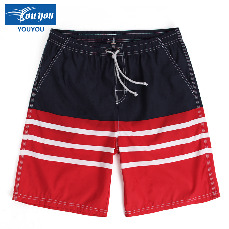 Woo swim summer lovers beach pants loose large size men's casual european and american seaside beach resort beach pants swim
