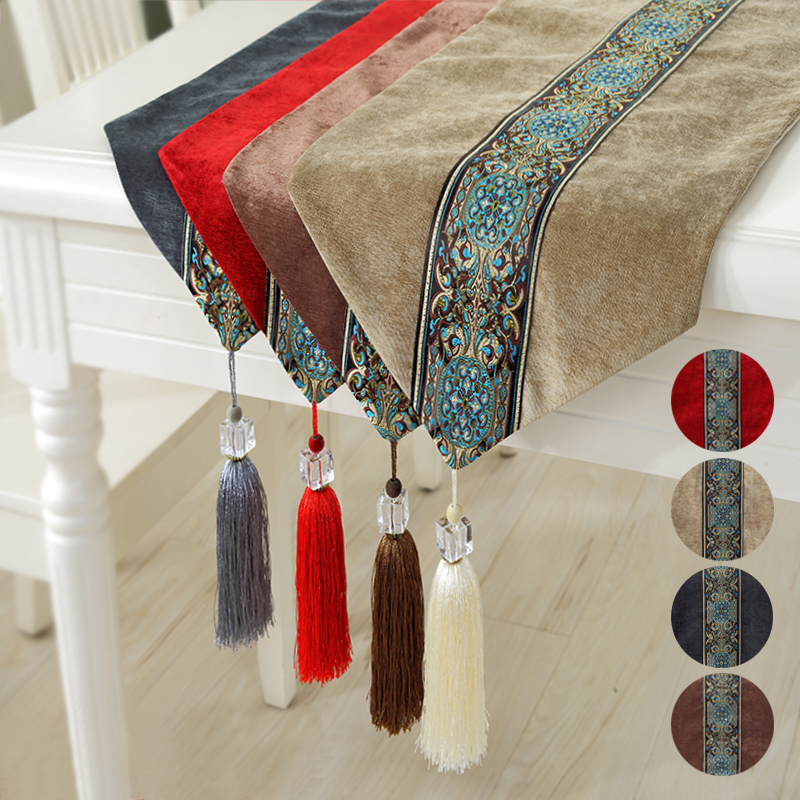 Wooden children home lace satin table runner european pastoral coffee table table cloth tablecloth rectangular coffee table cloth flag