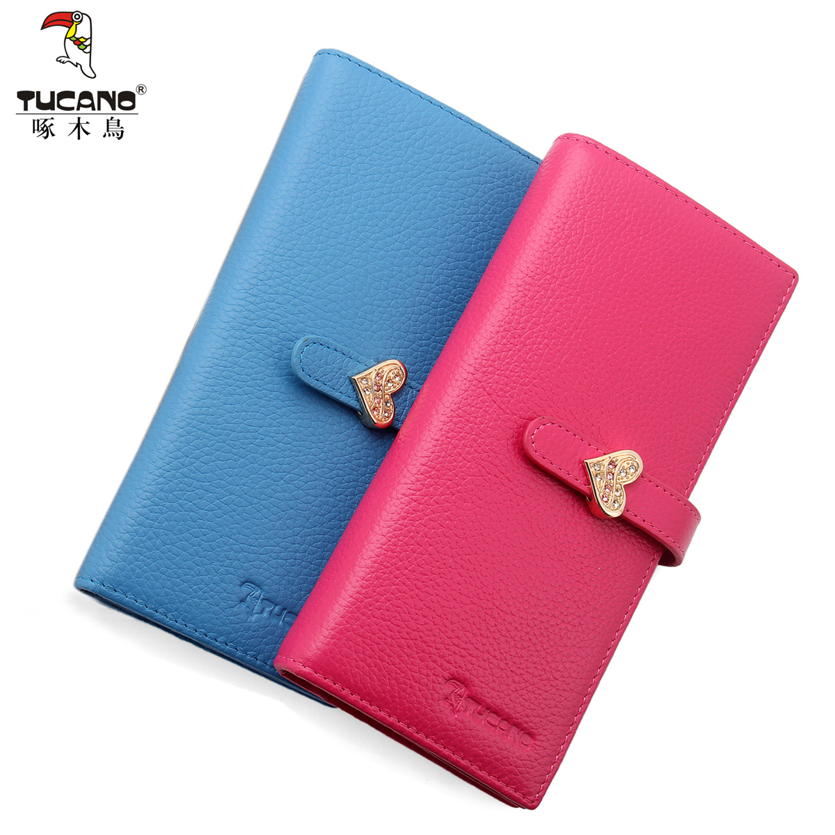 Woodpecker ms. wallet 2015 new fashion ladies handbag korean version of the first layer of leather ms. long wallet