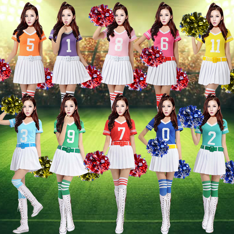 World cup football baby cheerleading new sexy stage performance clothing adult cheerleading costumes students