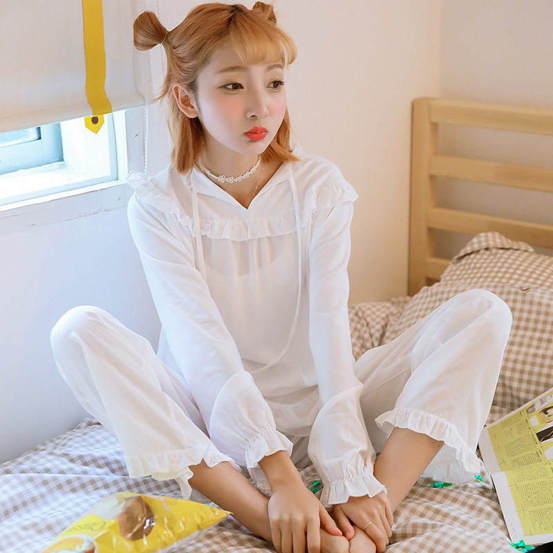 ccd3e24aa Get Quotations · Wowpink style tracksuit suit pajamas spring and female  korean version of sweet princess long sleeve can