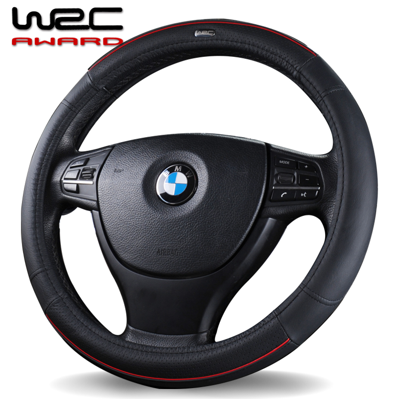 Wrc car grips doå…æç§å¨å…æhand/wei lang ang kela regal lacrosse hideo kai more leather steering wheel cover Set
