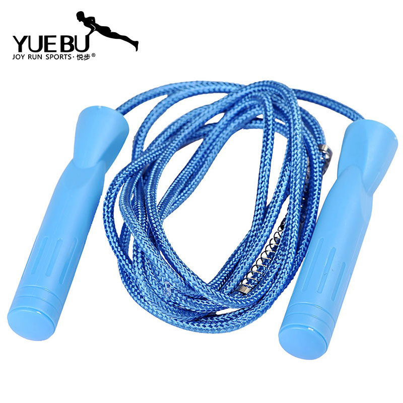 Wyatt step braided rope skipping rope skipping professional bearing skipping rope skipping rope skipping fitness shaping prevent roping