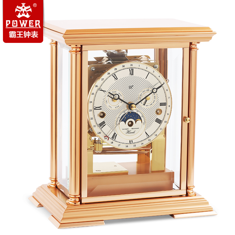 Xanthoxylum compont german hermle mechanical timekeeping clock classical modern art living room wall clock movement clock metal