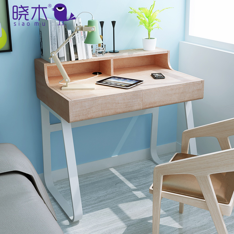Xiao wooden minimalist modern desktop computer desk desk home fashion simple desk desk desk desk creative