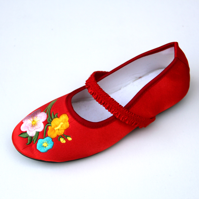 Xifeng court han chinese clothing costume embroidered shoes embroidered shoes embroidered shoes children shoes baby shoes dance shoes