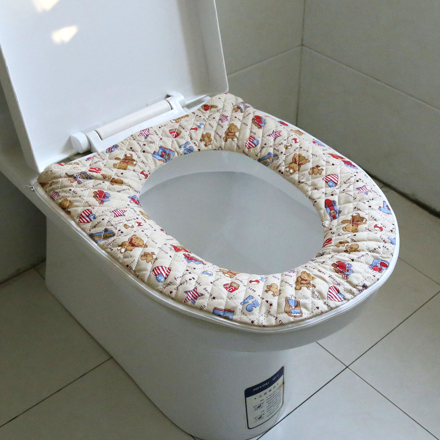 Xin instrument pastoral thick mat toilet potty toilet cover toilet seat cover toilet seat cover zipper limit shipping