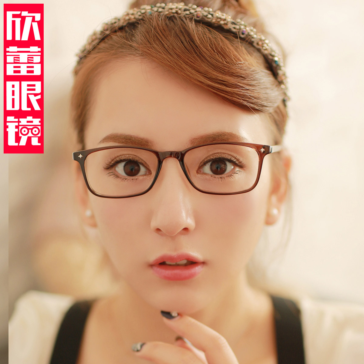 Xin lei blue radiation glasses female finished myopia optical glasses glasses glasses frames myopia female models female