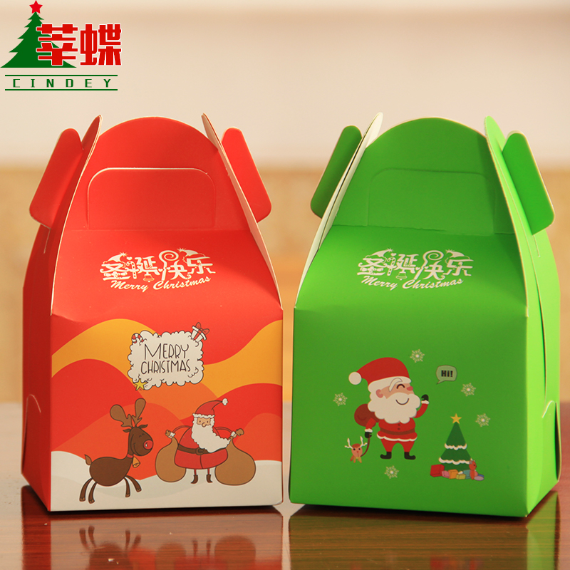 Xin skipperling christmas eve apple apple box christmas gift christmas paper christmas gift peace fruit fruit gift box