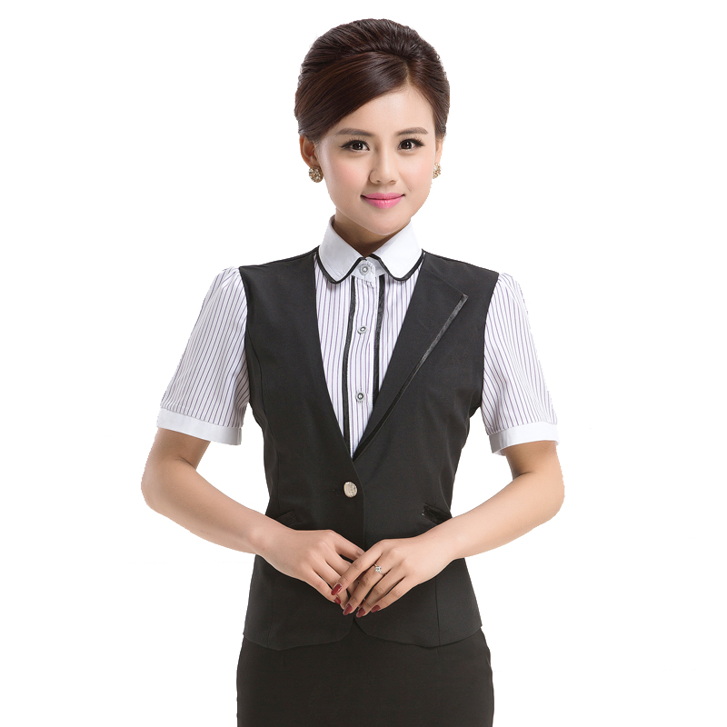 Xing jie yi hotel overalls summer hotel restaurant restaurant waiter overalls overalls work clothes short sleeve
