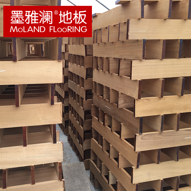 Ya lan ink pomelo tens of thousands of pieces unpainted not slotted floor burmese teak wild natural forests bulk purchases