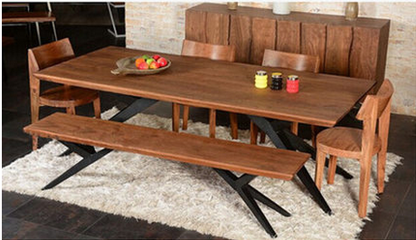 Ya zhu american country dinette combination of wrought iron wood dining tables and chairs wrought iron chairs wood table