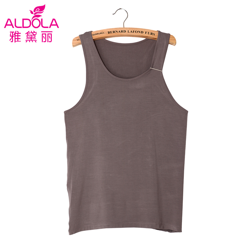 Yadai li 2016 new spring and summer men's solid color vest bottoming YH62800