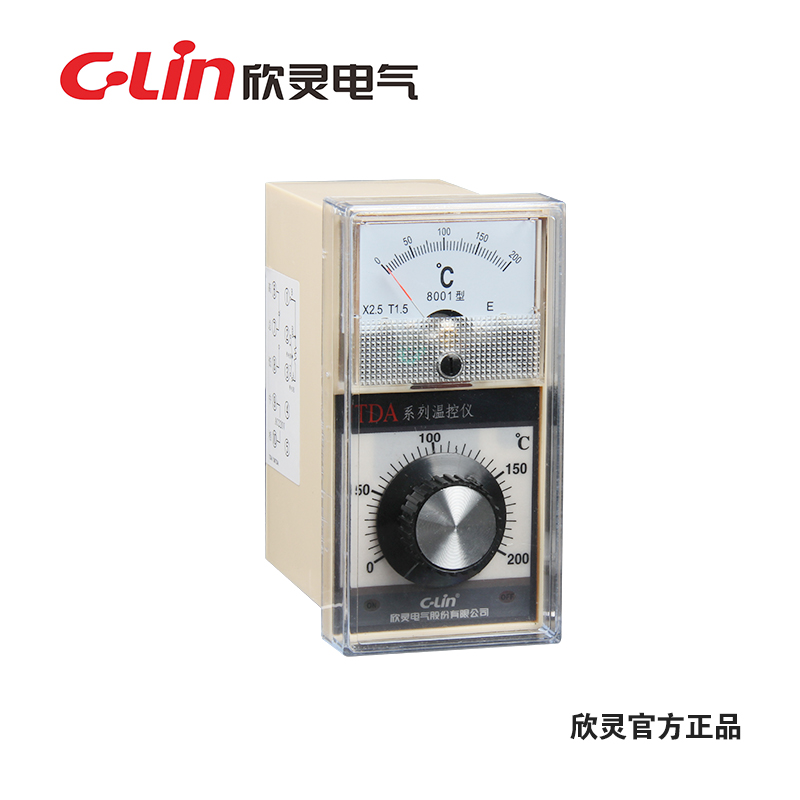 Yan ling tda-8001 temperature indicating temperature controller thermostat temperature controller indexing number e scope 0-400 ℃ ac220v