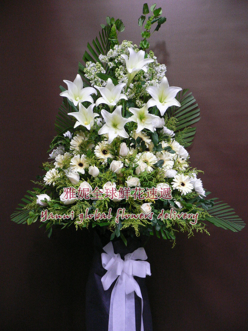 China flowers head wreath china flowers head wreath shopping guide get quotations yanigift flowerabout hong kong express order flowers bouquet of flowers memorial wreath izmirmasajfo