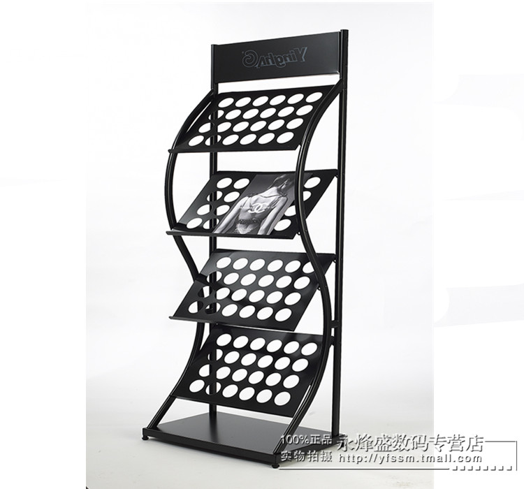 YH-2040 iron should ho magazine newspaper rack newspaper rack newspaper rack display data frame publicity rack