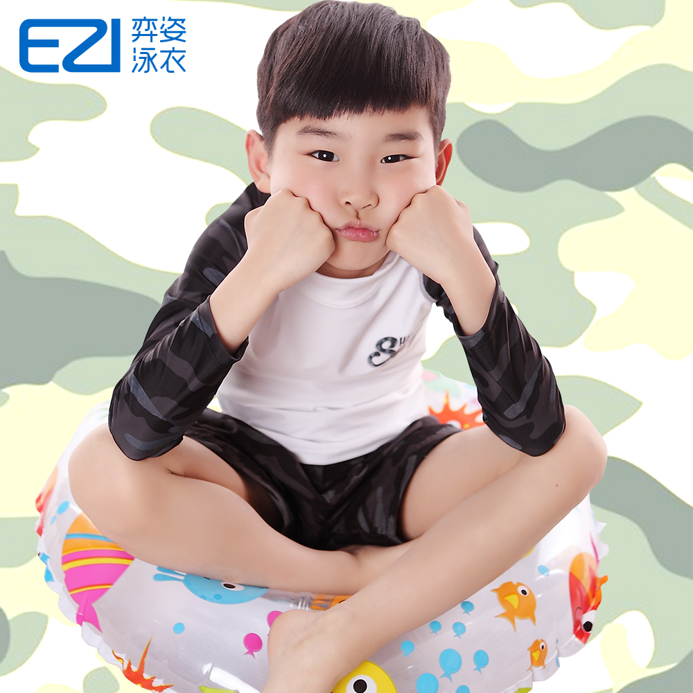 Yi pose new boys students cruisewear ezi 6-15 sun surf clothing coat and medium-sized children aged 16065