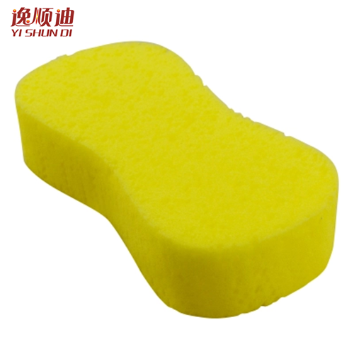 Yi shun di car wash sponge car cleaning car wash car wash 8 characters sponge car cleaning supplies cleaning beauty tools