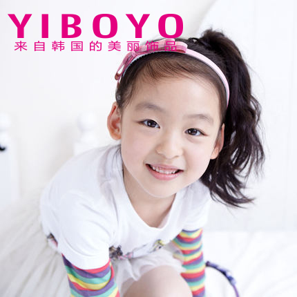 Yiboyo korea imported children hairpin girls hair bow hair bands gretl college girl child hair accessories kids