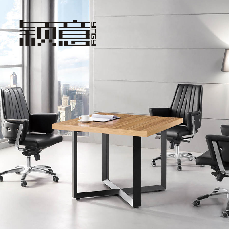 Ying italian furniture plate minimalist modern office furniture conference table to discuss the reception will be off the table square table l-30
