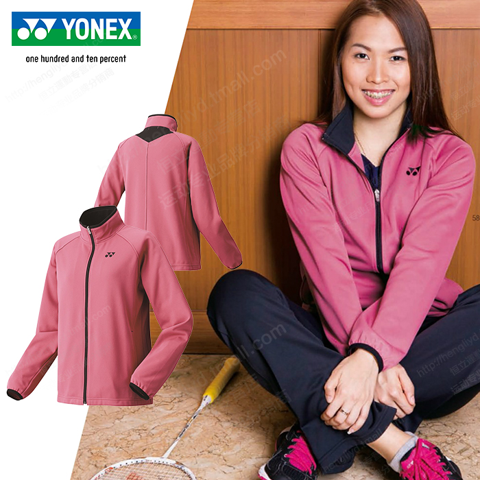 Yonex yonex yy network/badminton clothing female sports coat/jacket long sleeve autumn and winter models plus velvet 58070