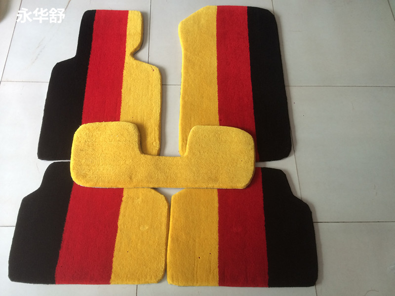 Yonghua shu suitable for bmw 320i 320li car mats car mats german flag footpads